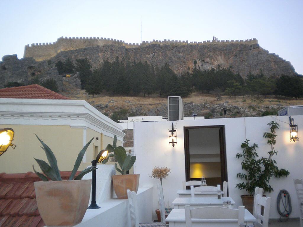 View of Acropolis Lindos
